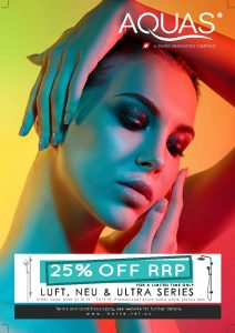 Aquas 25% off sale